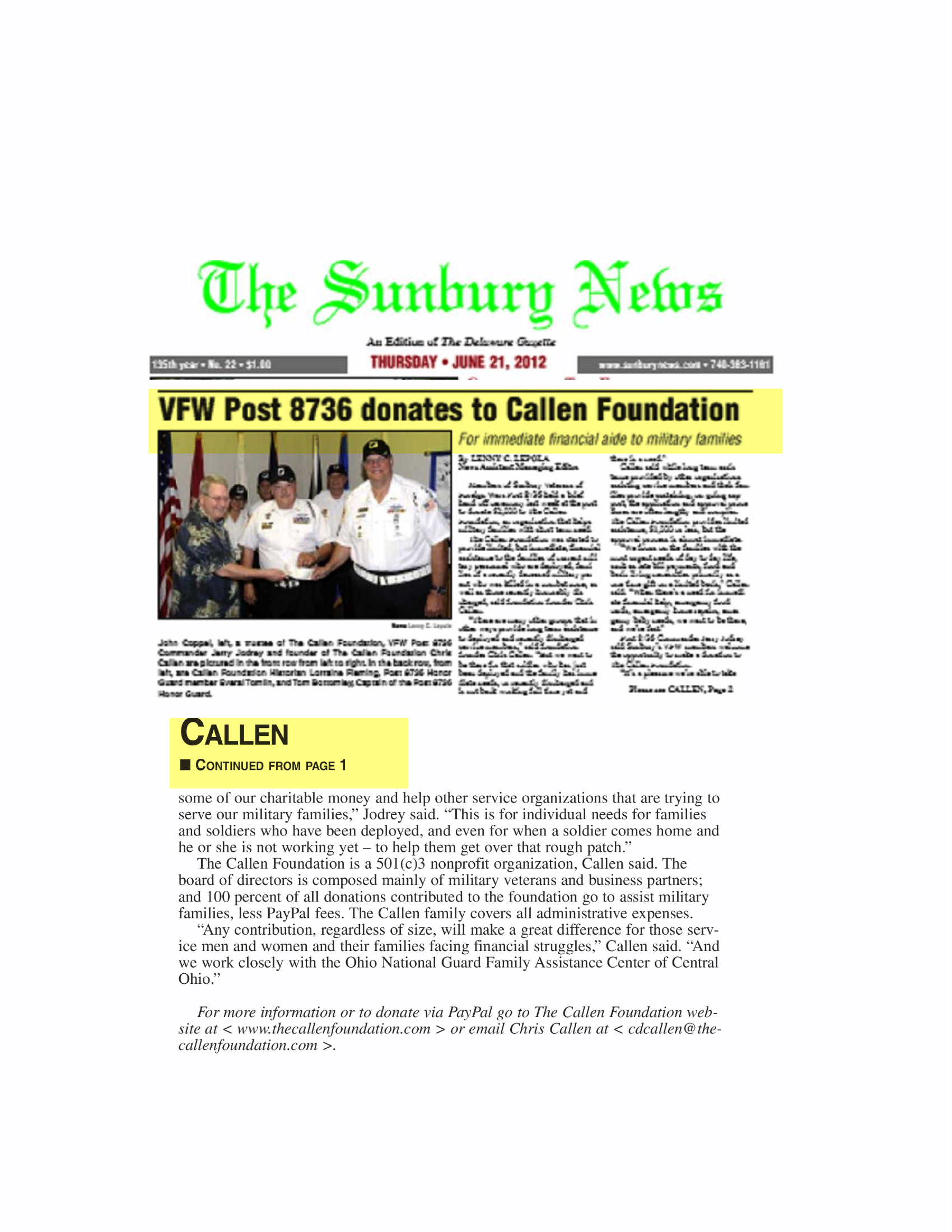 TCF - Sun New Article - Cut  Blown -  6-21-12